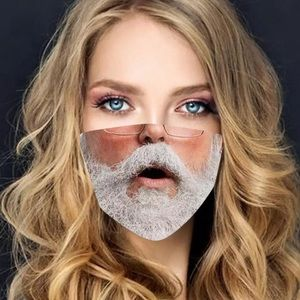 New Christmas Santa funny mask